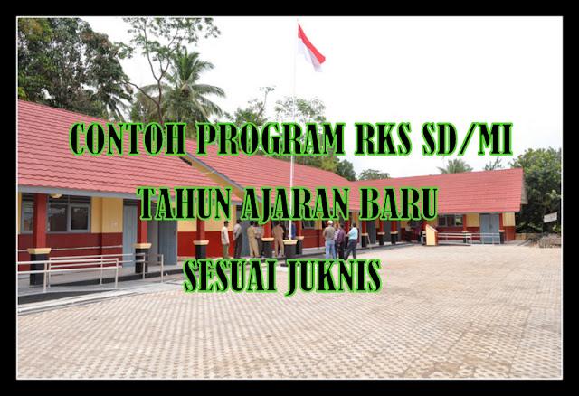 Download Contoh Program RKS SD/MI Tahun Ajaran Baru Sesuai Juknis