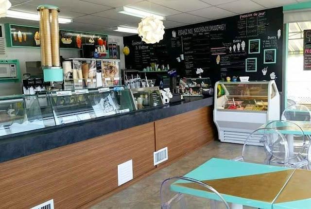 bar laitier Passion d'été St-Romuald crèmerie gelato sorbet