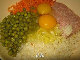 овощи для тефтелей