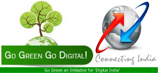 BSNL Offering Rs.10 discount on Monthly Rental Bill per connection for 'Go Green' scheme