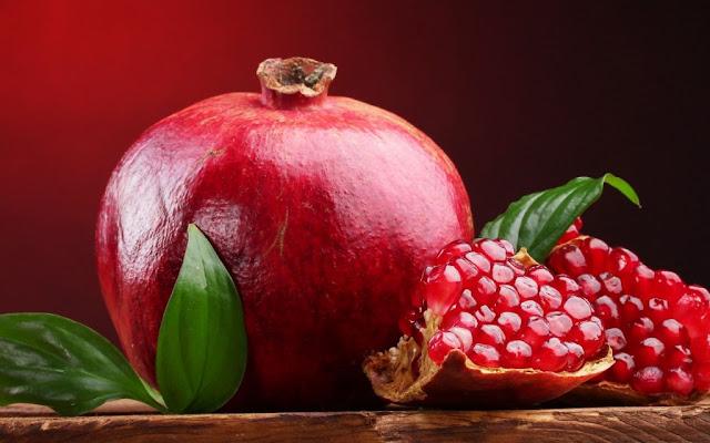 Os 7 benefícios romã para saúde