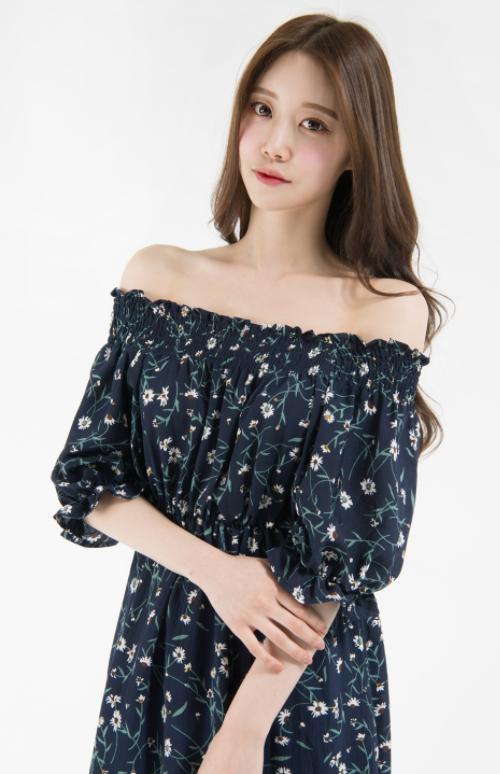 Floral Half Sleeve Off-Shoulder Dress