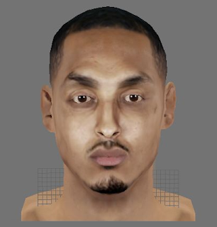 NBA 2K14 Ryan Hollins Face Mod