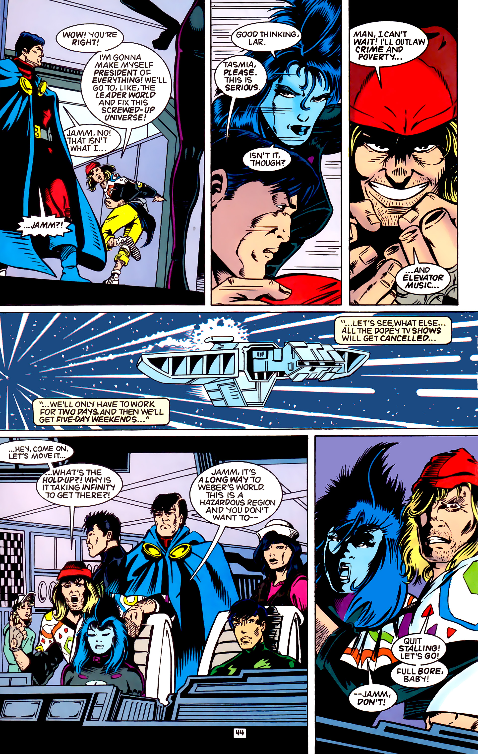 Legion of Super-Heroes (1989) _Annual_4 Page 44