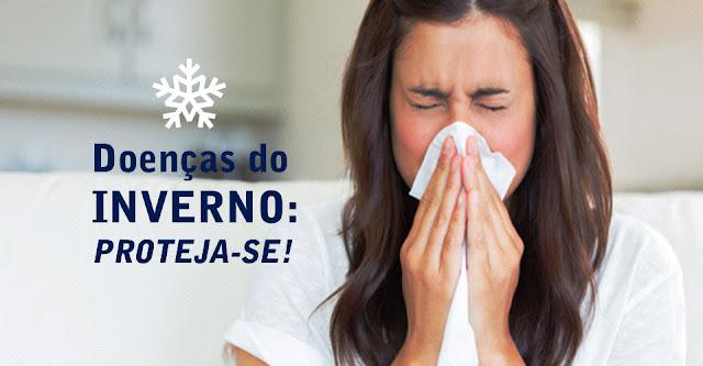Doenças do inverno: Proteja-se!