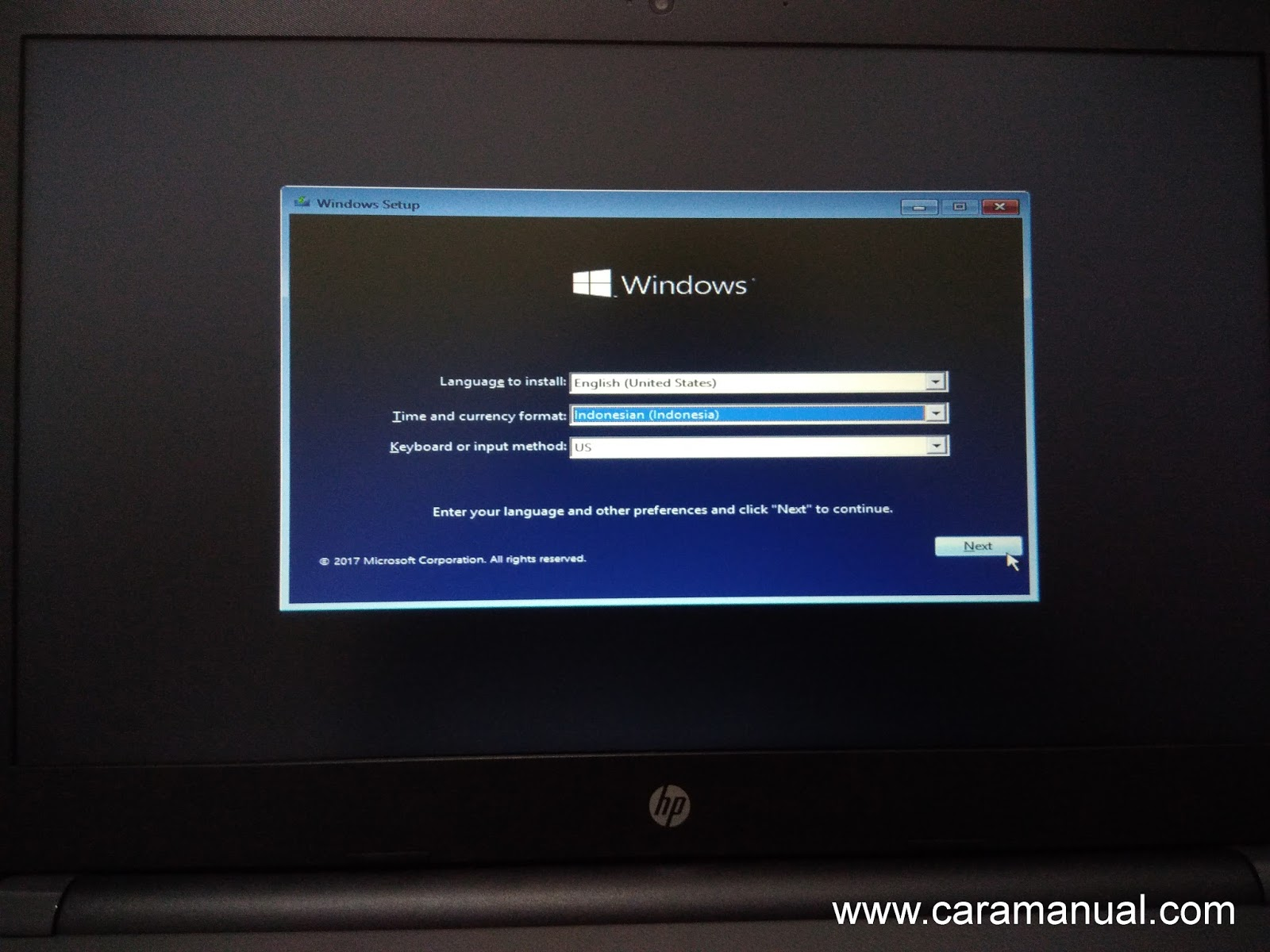 Instal Windows 10 Dengan Flashdisk di Laptop Non-OS 2