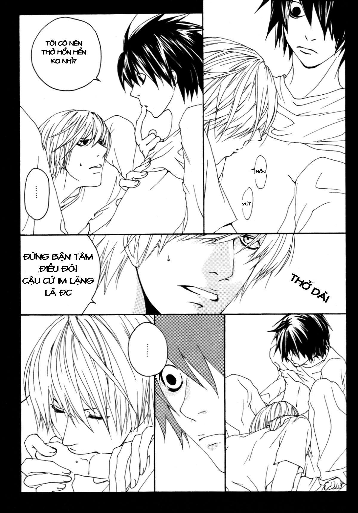 Hình ảnh 025 in Death Note Doujinshi - Feather Plus