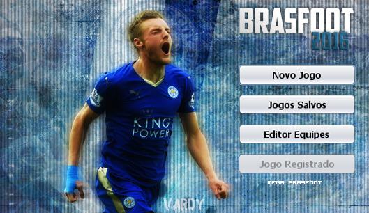 Skin Jamie Vardy - Leicester City para Brasfoot 2016