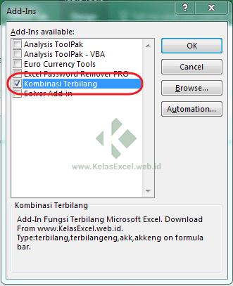 Download Fungsi Terbilang : download, fungsi, terbilang, Download, Add-In, Fungsi, Terbilang, Excel, Indonesia, Inggris