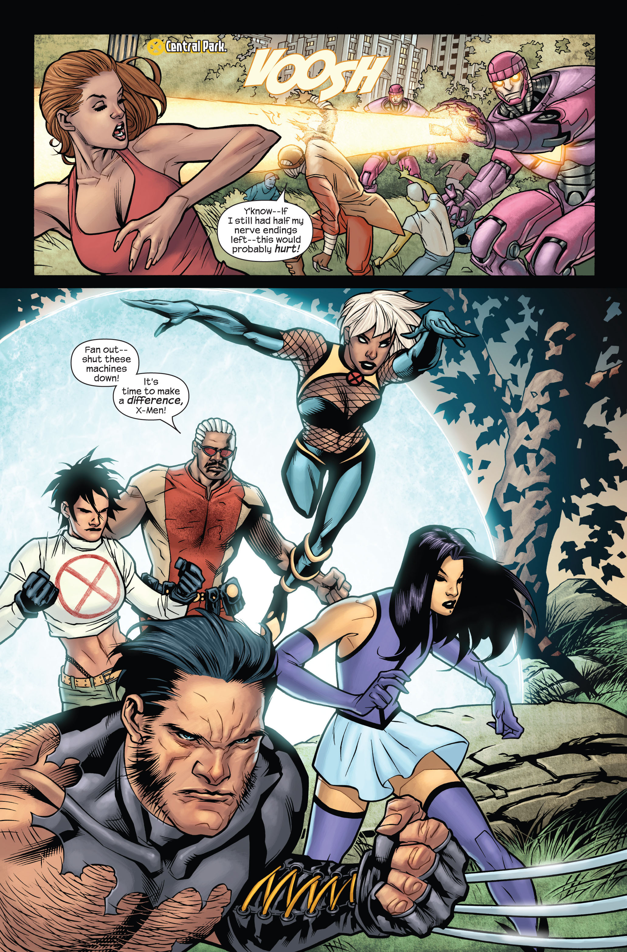 Read online Ultimate X-Men comic -  Issue #87 - 14
