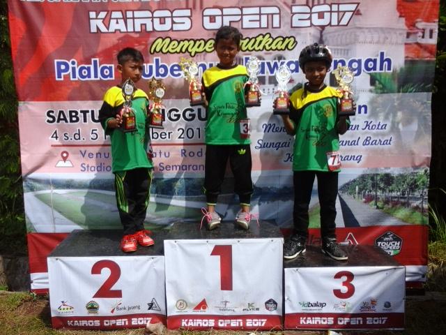 Anak PKH Juara Sepatu Roda