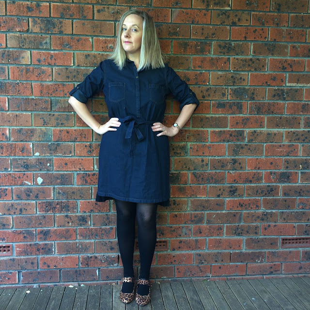 Katies denim dress | Almost Posh