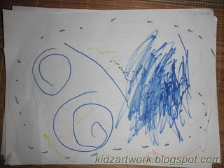 Junior Artists: 25.9.10: 2 year old's early drawing faces ...