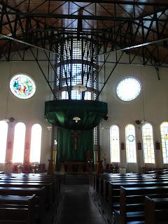 Interior da Nova Igreja de Itá