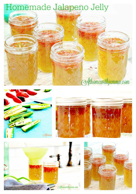 jars-jelly-jalapeno-fresh jalapenos-canned jelly-how to make jelly with athome with jemma