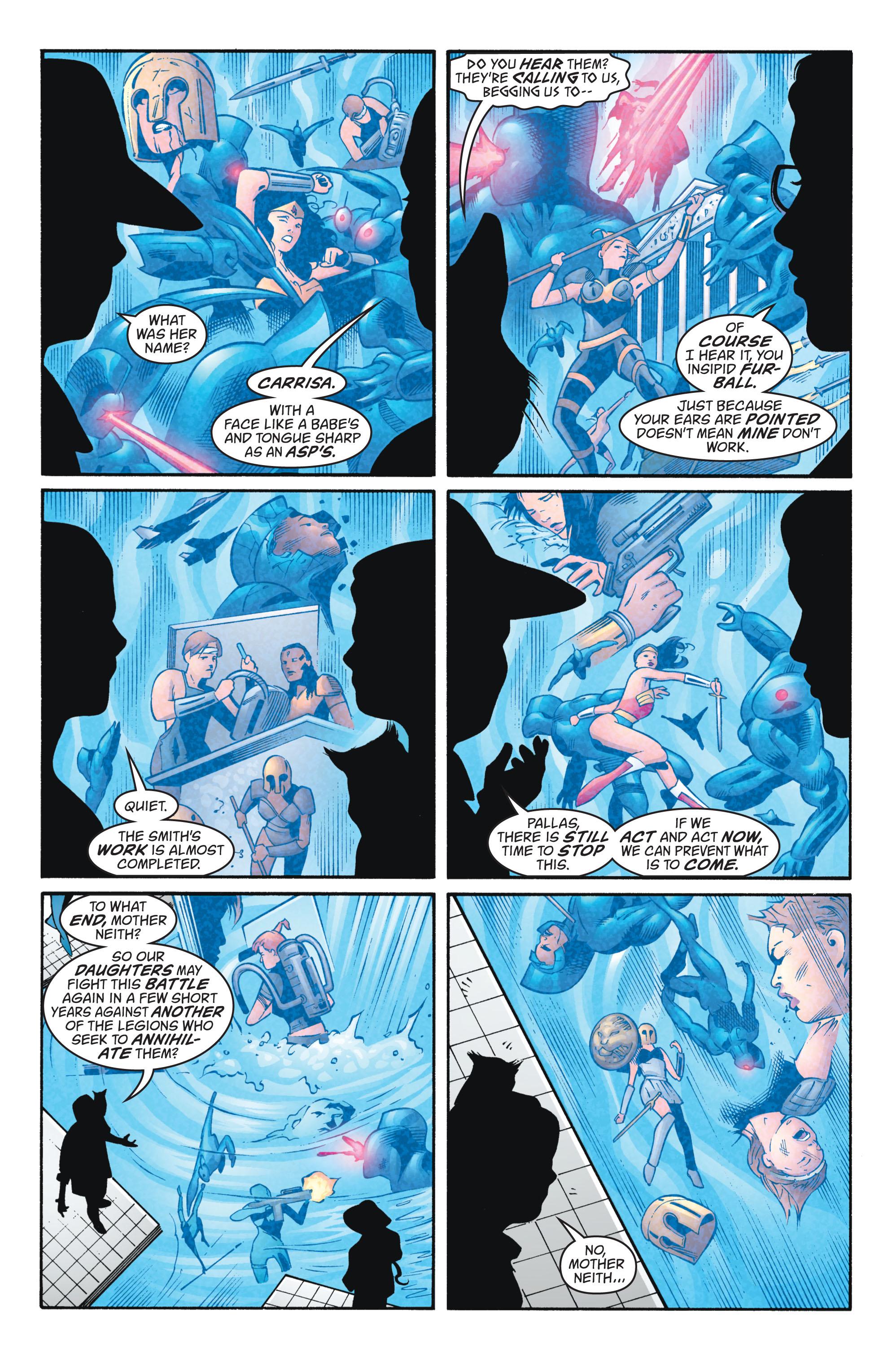 Read online Wonder Woman (1987) comic -  Issue #224 - 2