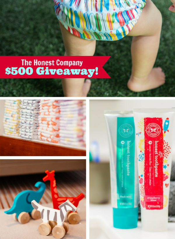 Giveaway | $500 Party Shopping at The Honest Company