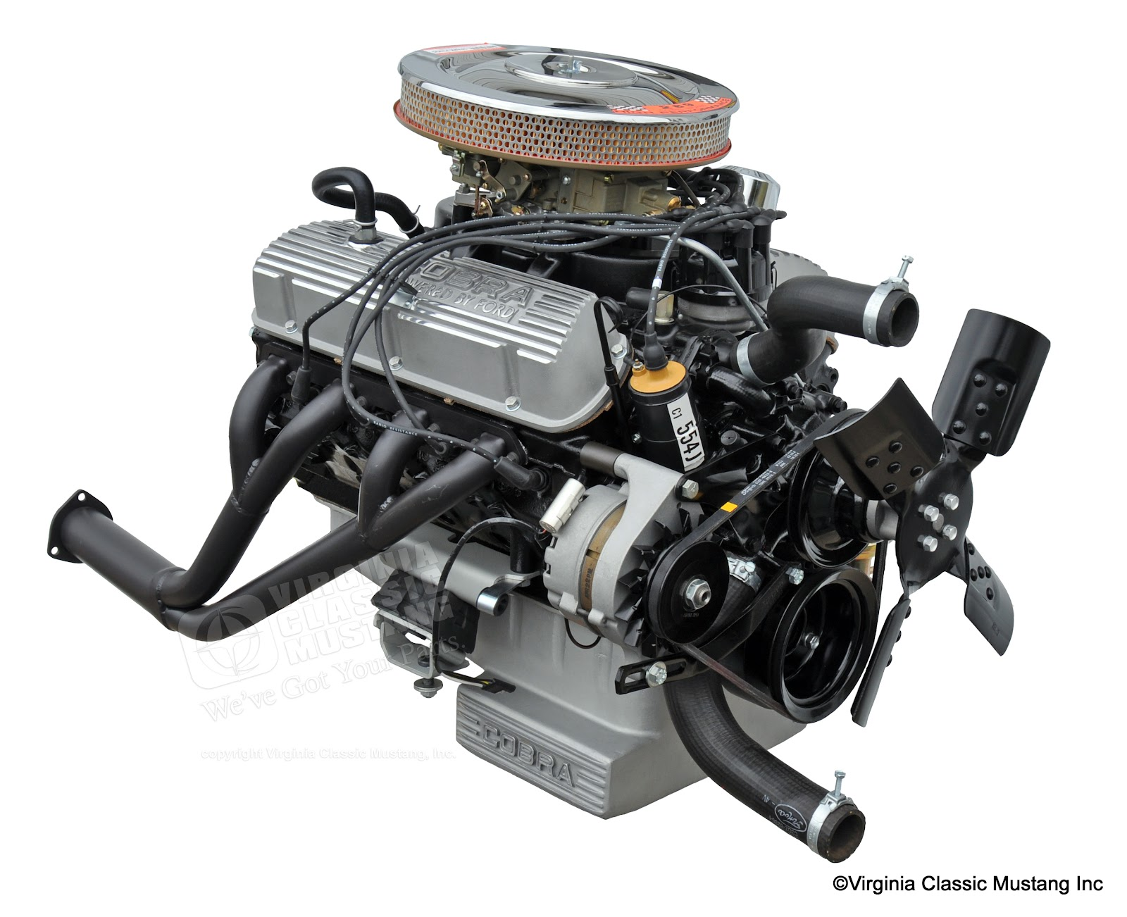 Virginia Classic Mustang Blog Just The Details1966 Shelby Gt350 Ford 289 Engine And Transmission Assembly Diagram Detailed From 1966 Sfm6s033 High Performance Virginiaclassicmustangcom