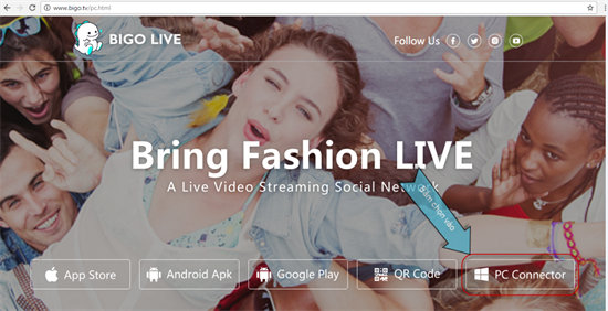 Hướng dẫn Live Stream Bigo Live trên máy tính