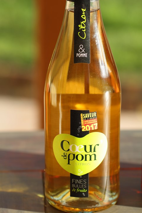 Sorbet Coeur de Pom citron