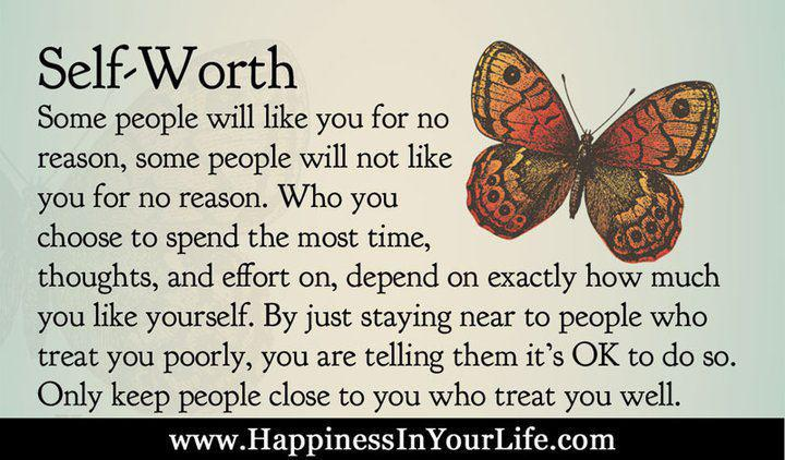 Inspirational Quote of the Day: Your Self Worth | Myers ... |Motivational Quotes Self Worth