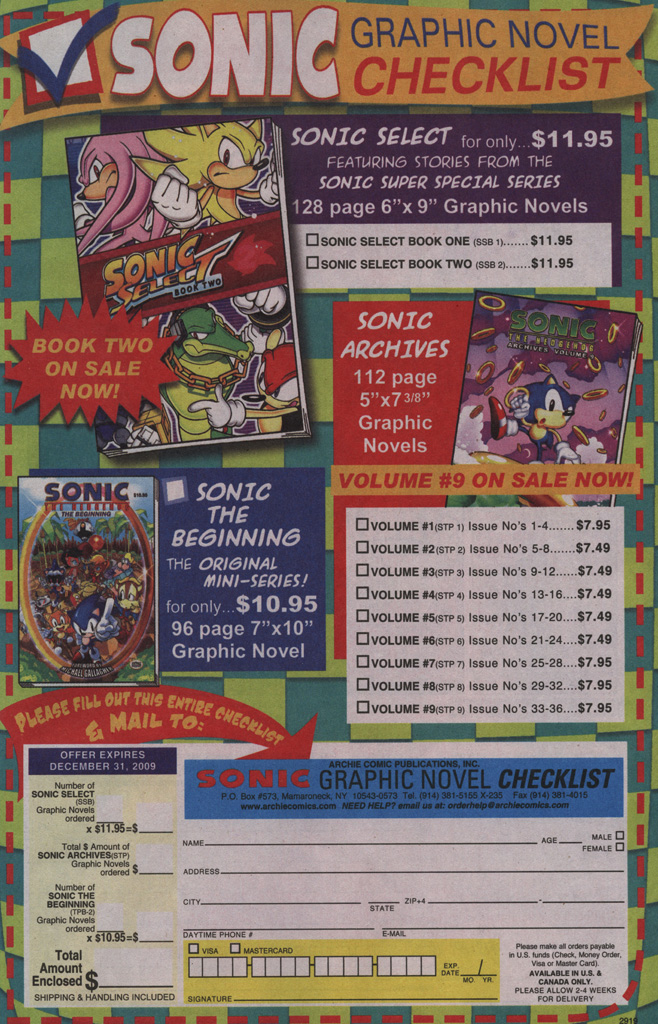 Read online Sonic The Hedgehog comic -  Issue #195 - 6