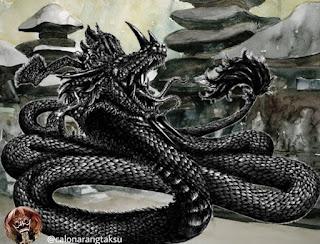 Kisah Dihadang Naga Penjaga Pura Dalem - Deva setiawan