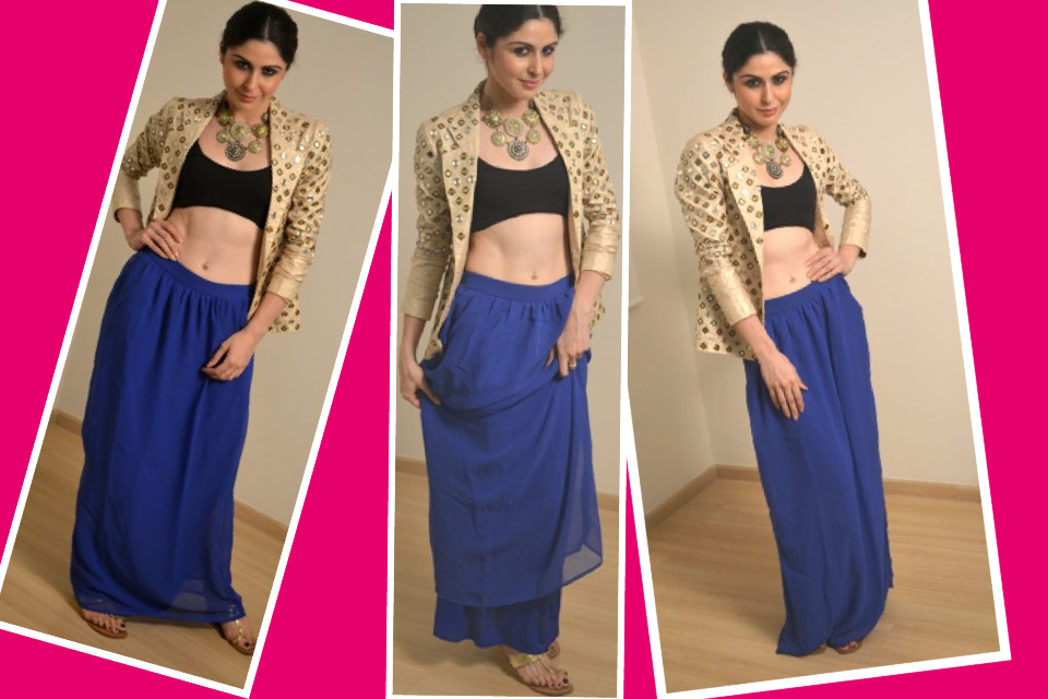 Wear It Over A Maxi Skirt Or Lengha This Is Perfect For Sangeet