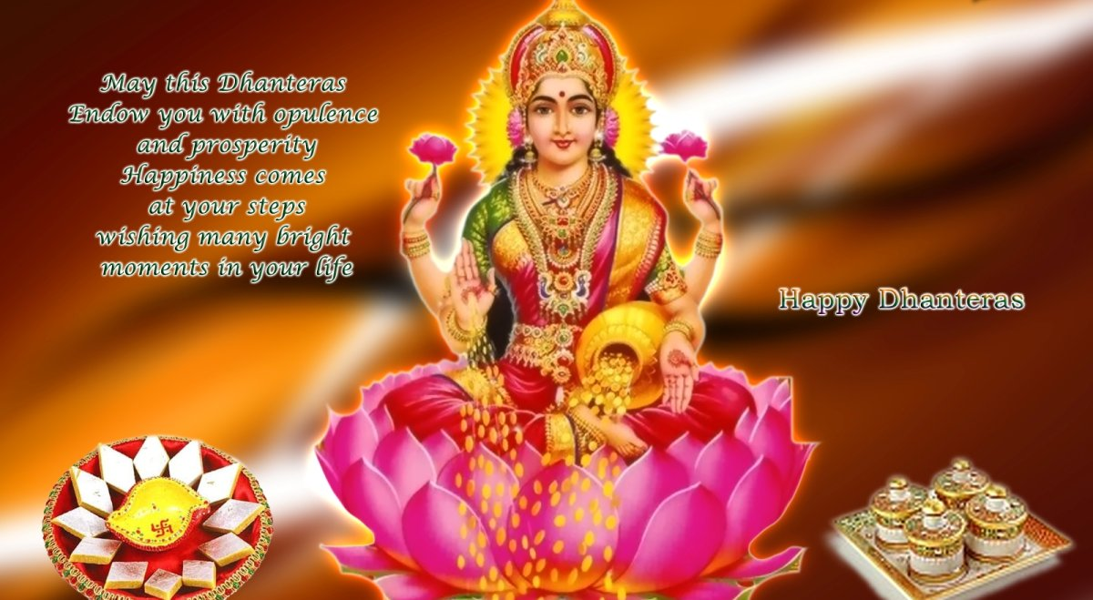 Maa Saraswati 3d Wallpaper 2013 Happy Dhanteras Wishes Laxmiji Wallpapers Happy Diwali 2013