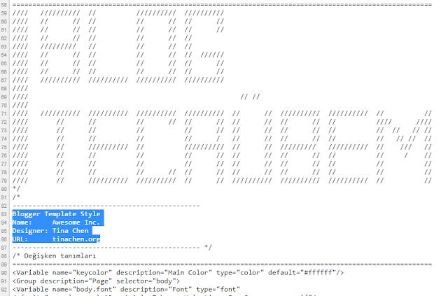 HTML Alanı