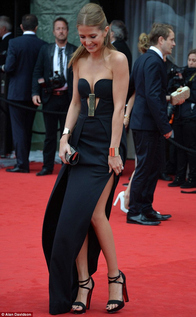 Baftas, Dress, Made In Chelsea, Maxi Dress, MIC, Millie Mackintosh,
