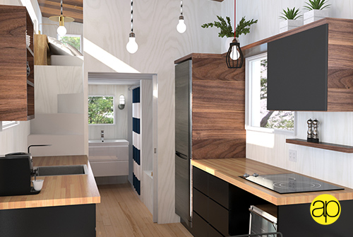Atelier Praxis tiny house by Minimalist