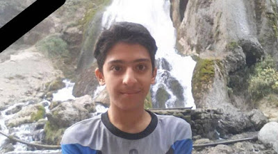 Armin Sadeghi- 13 year was killed in Khomeini shar-Isfehan
