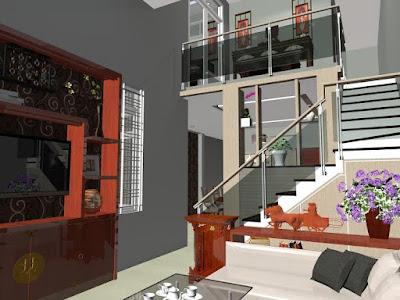 Nội thất nhà ống 1 tầng - ảnh 1