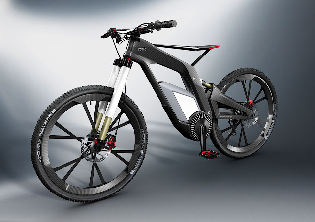 the Audi e-bike Wörthersee front side