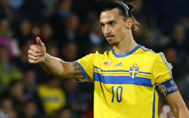 """HLV Thụy Điển """"dập tắt"""" cơ hội quay lại của Ibra, Andy Caroll có cơ hội dự World Cup 2018"""