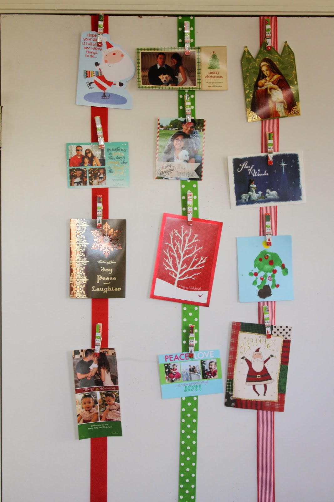 Make it Cozee: Easy Christmas Card Holder