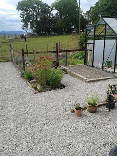 garden is transformed