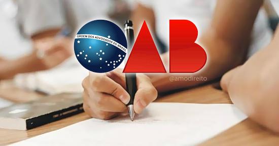Provas do exame da oab
