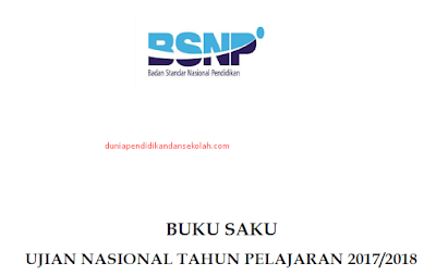Download Buku Saku Ujian Nasional (UN) Final Untuk SMP/ MTs, Paket B/ C, SMA/ MA dan SMK Tahun ajaran 2017/2018