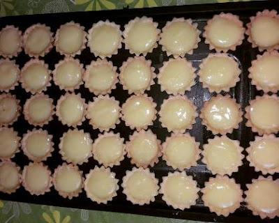 ميني تارت كريمة الليمون tarte au citron