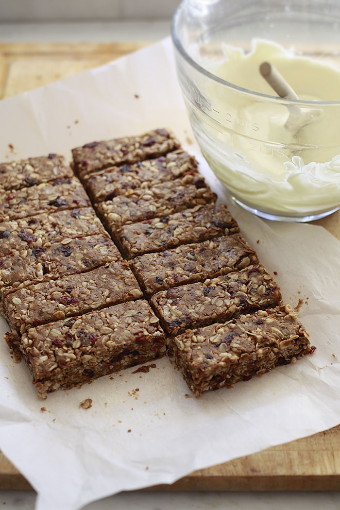 homemade peanut butter granola bars recipe