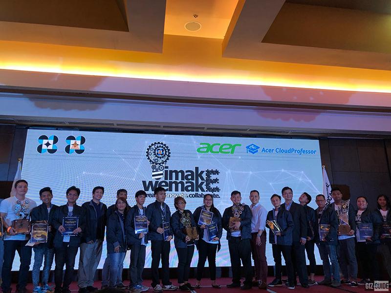 Acer's IMAKE.WEMAKE winners
