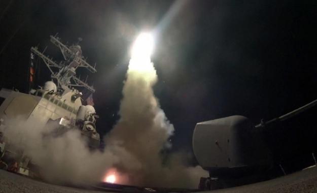 Γιατί χτύπησαν οι Αμερικανοί στη Συρία!