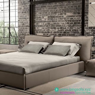 Mẫu giường bọc nỉ đẹp sang trọng GN25