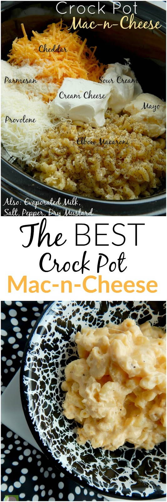 crock pot mac and cheese pie