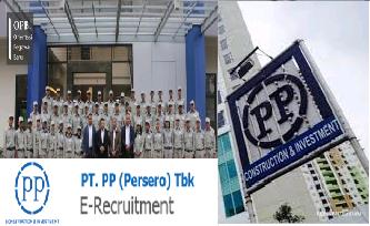 Rekrutmen Besar-besaran PT PP Persero Tbk Juli 2017