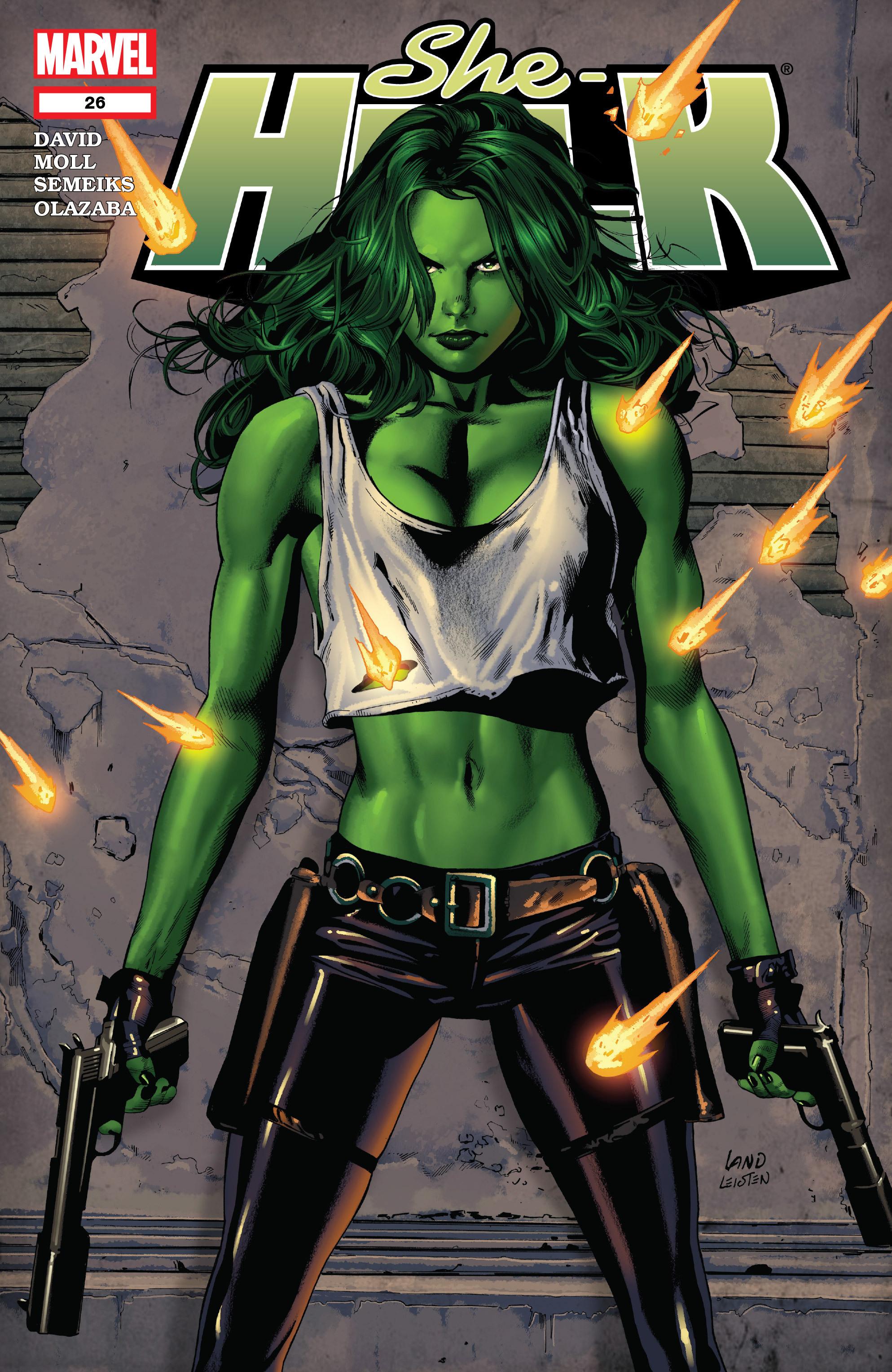 Read online She-Hulk (2005) comic -  Issue #26 - 1