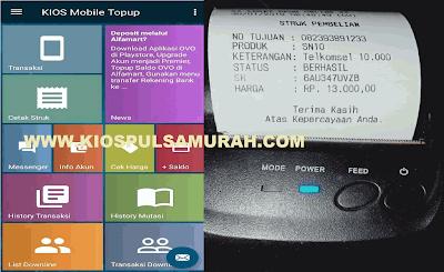 Bisnis Pulsa Semakin Berkah & Mudah dengan Kios Mobile Topup APK