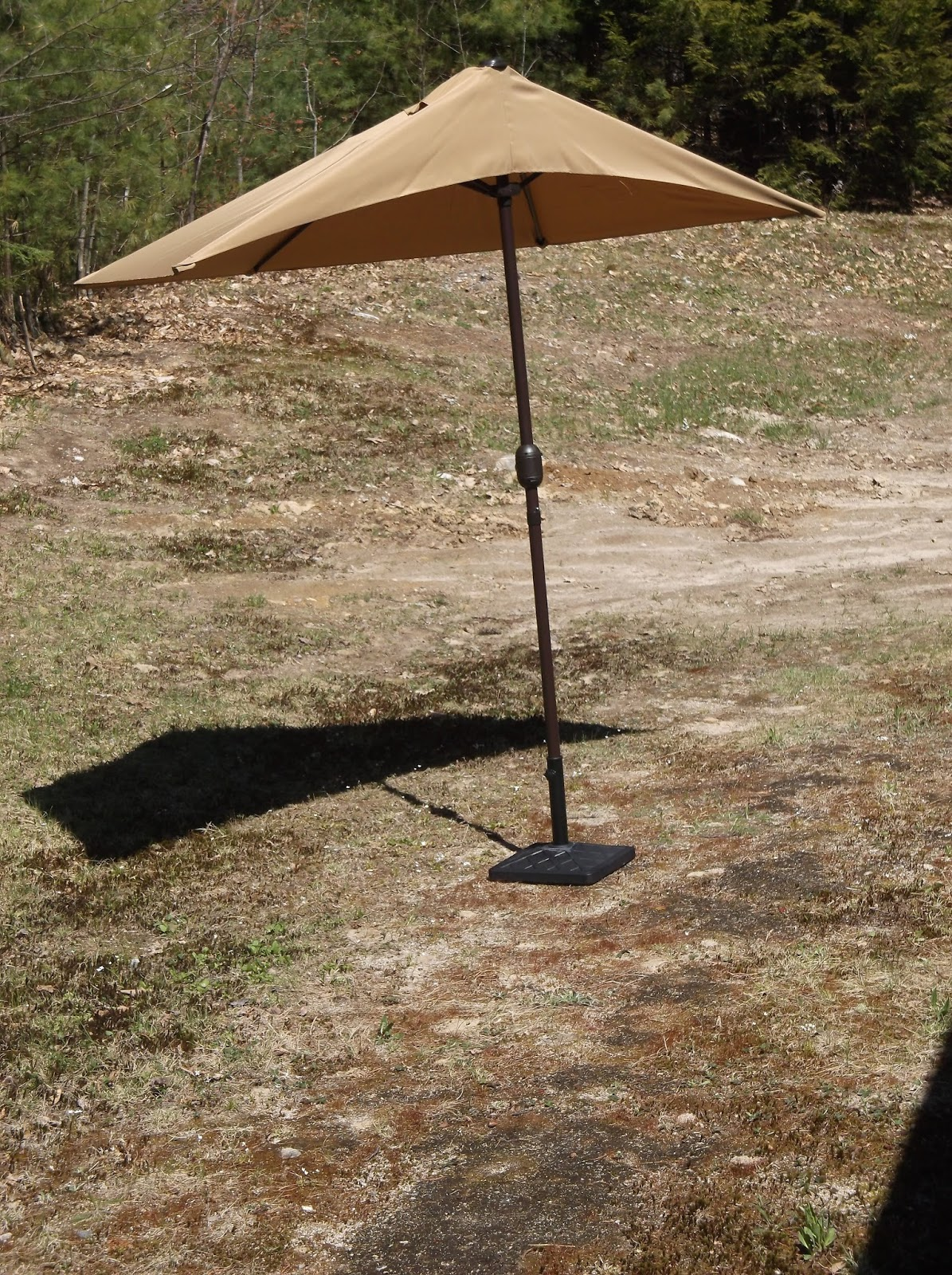 Patio Umbrella Crank Diagram: Missys Product Reviews : Sundale Outdoor Tan 9 Feet Steel